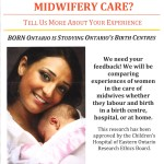 Evaluate the Toronto Birth Centre
