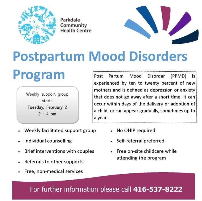 Parkdale PP Depression Flyer Jan 2016
