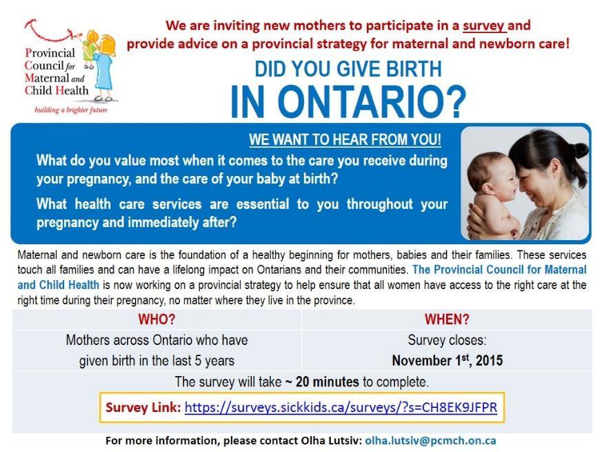 PCMCH Mat Newborn Care Women Survey Poster